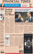 Financial times cover